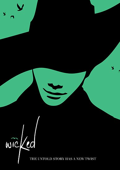 Wicked - Chris Colfer Poster by mondter