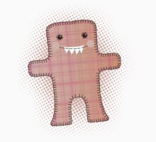 Hand stitched handmade toy monster stuffy Kids Clothes