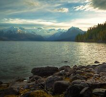 Mornings at Lake McDonald by Bendinglife
