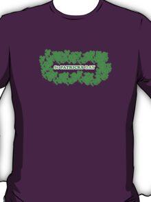 St Patricks Day Clovers T-Shirt