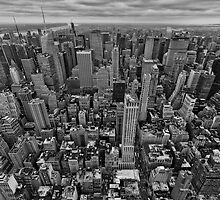 NY - Empire view by Klaus Brandstaetter