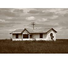Route 66 - Abandoned Farm House Photographic Print