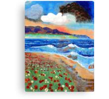 Golden Beach 1 Canvas Print