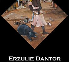 Erzulie Dantor  by Henriott