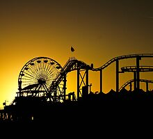 The rides at sunset by jdrephotography