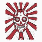 Day of the Dead Skull T Shirt by Fangpunk