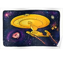 Adventure Trek / Star Time Poster