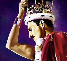 Freddie Mercury by wewasglam