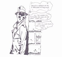 Rorshach  by GraveHawk