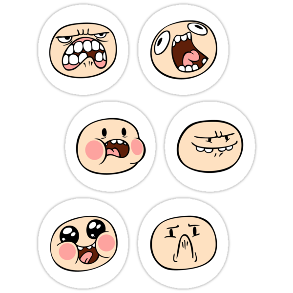 Finn's Faces by TipsyKipsy