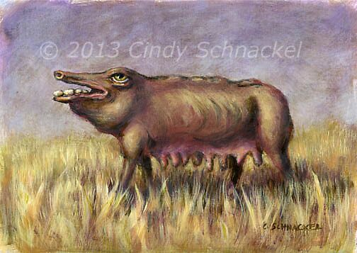 Mammal 6 by Cindy Schnackel
