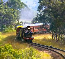 Train 3265 002 by kevin chippindall