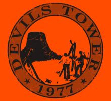 Devils Tower, 1977 (Grey Print) by GritFX