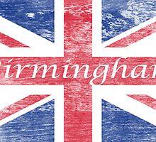 Aged  Birmingham Flag by wtaylor72