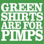 Green Shirts by Blinky2lame