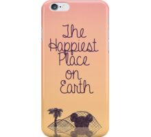 Happiest Place on Earth iPhone Case/Skin