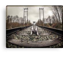 BC Tracks Canvas Print