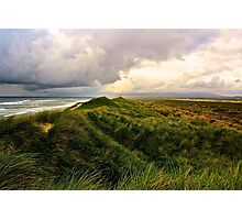 Storm over the Dunes Photographic Print