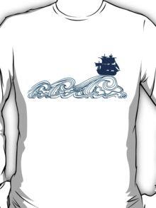 Journey's crest ahoy! T-Shirt