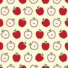 Cute Apple Picture Pattern by thejoyker1986