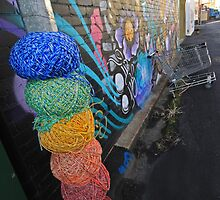 yarn bombed by SharronS