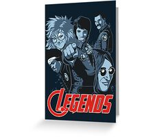 THE LEGENDS Greeting Card