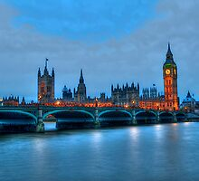 River Thames, Westminster Bridge by expo15
