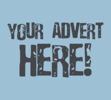 Your Advert Here by CarbonClothing