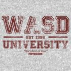 WASD University Red by Fernsie