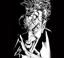 The Joker Face at Batman Dark Knight by neutrone