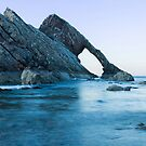 Bow Fiddle Rock, Portknockie, North East Scotland by OpalFire