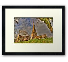 Saint James Church, Normanton on Soar Framed Print