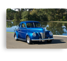 1940 Ford Deluxe Coupe II Canvas Print