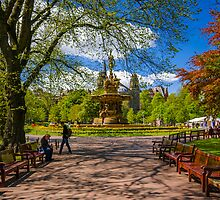The Ross fountain by Graeme Ross