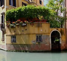 "Venice ""streetscape"". by hans p olsen"
