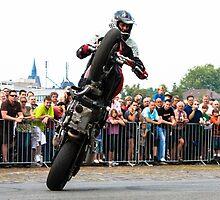 motorcycle stunt 007 by dirk hinz
