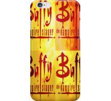 Buffy Logo iPhone Case/Skin