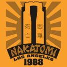 Nakatomi, 1988 (Black Print) by GritFX