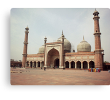 Jama Masjid Canvas Print