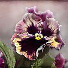 Purple Face by Crista Peacey