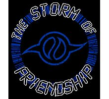 The Storm Of Friendship Photographic Print