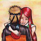 Naruto and Kushina by Kimberly Castello