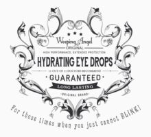 Weeping Angel Eye Drops by calvingreg09