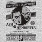 Ash vs. Henrietta by GritFX