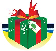 """Day 147   365 Day Creative Project  """"Gift Wrapped"""" by Robyn Williams"""