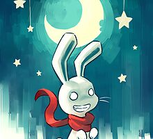 Moon Bunny 2 by freeminds