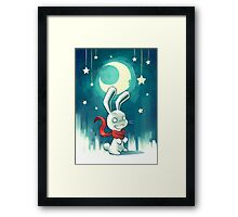 Moon Bunny 2 Framed Print