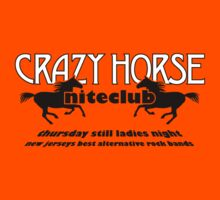 Crazy Horse (B&W) by GritFX