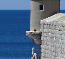 Old Town Walls, Dubrovnik by wiggyofipswich