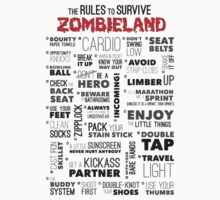 Rules to survive zombieland by BungleThreads